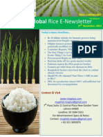 27th November,2014 Daily Global Rice E-Newsletter by Riceplus Magazine