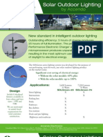 SolGreen Solar Street Lighting & Parking Lot Lighting  - Digital HID (DHID) Ballast Technology