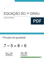 05 Equau00E7u00E3o Do 1u00BA Grau