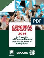Congreso Educativo 2014 UDOCBA