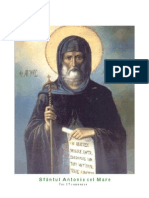 Sfantul Antonie Cel Mare - Joi 17 Ianuarie