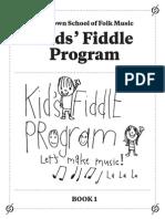 Fiddle Book 1