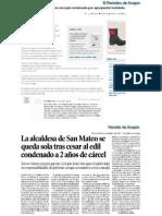 2014-11-28 Heraldo y EPdA La Alcaldesa Destituye Al Concejal Condenado
