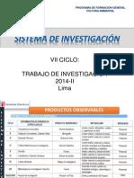 PROPUESTA DEL TRABAJO DE INVESTIGACIÓN UCV