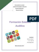 Formacion Auditiva, II Categoria. Trabajo Enviar de La Expo Realizada