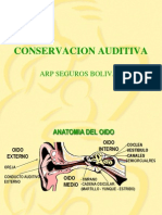 Conservación Auditiva