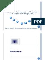 Diásporas intelectuales en Venezuela