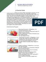 KPJ Knee Arthroscopy Exercise Guide