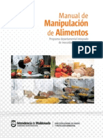 Manual de Manipulacion de Alimentos
