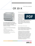 CR 10-X (Spanish - Datasheet)