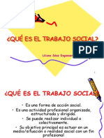 Qué Es El Trabajo Social