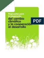Integración del Cambio Climático y la Cooperación al Desarrollo