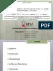 Estudo Termodinâmico da adsorção de zinco em argila