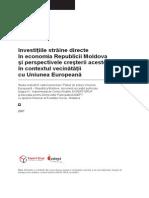 Investitiile Straine Directe in Economia Republicii Moldova