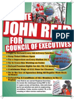 John Reid for Council of Executives