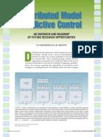 Distributed Model Predictive Control