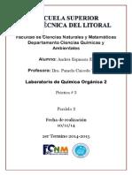P3 Obtención de La Dibenzalcetona a.E