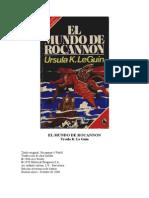 Leguin Ursula k - El Mundo de Rocannon