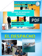 Manual de Despacho