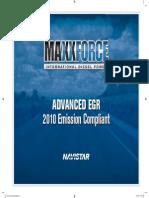 Advanced EGR 2010 Emission Compliant