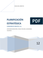 Planeación Estratégica Del Consorcio Gratol Sa (1)