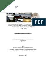 Arquitetura Moderna Na África Lusófona. Quelimane e a Obra de João Garizo Do Carmo (1952-1970)