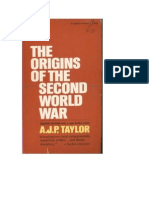 Taylor, A.j.P. - The Origins of the Second World War (2nd Edition)