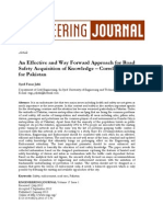 An Effective and Way Forward Approach for Road Safety Acquisition of Knowledge – Correlative Study for Pakistan.pdf