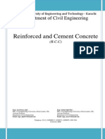 Reinforced and Cement Concrete