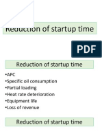Reduction of Startup Time