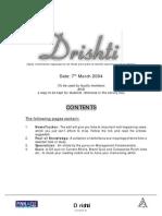 New Drishti # 45 --- 7th April 2004