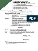 SK Pengankatan Pejabat Madrasah 2014