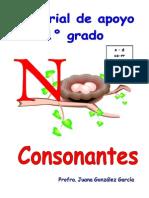 Consonantes 2 n, d, CA, Rr,