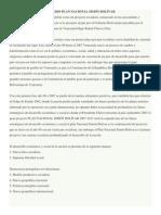 Análisis Plan Nacional Simón Bolívar