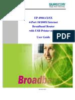 Surecom ep-4904sx manual