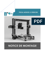 Notice de Montage - Prusa i3 Rework3