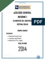 Alzamora Informe 1 Geologia General ,