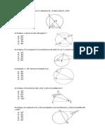 Taller Angulos Triangulos, Angulos Circunferencia
