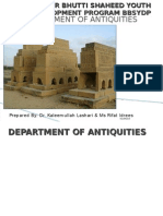 Department of Antiquities, Govt. of Sindh
