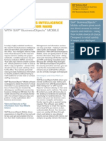 SAP BusinessObjects Mobility