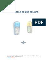 Protocolo de Uso Del Gps