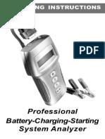 Battery analizer Analizador de Baterias