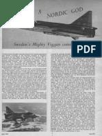 Saab 37 Viggen Trials