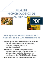Analisis Microbiologico de Alimentos