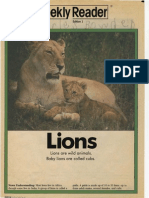 Weekly Reader - Lions