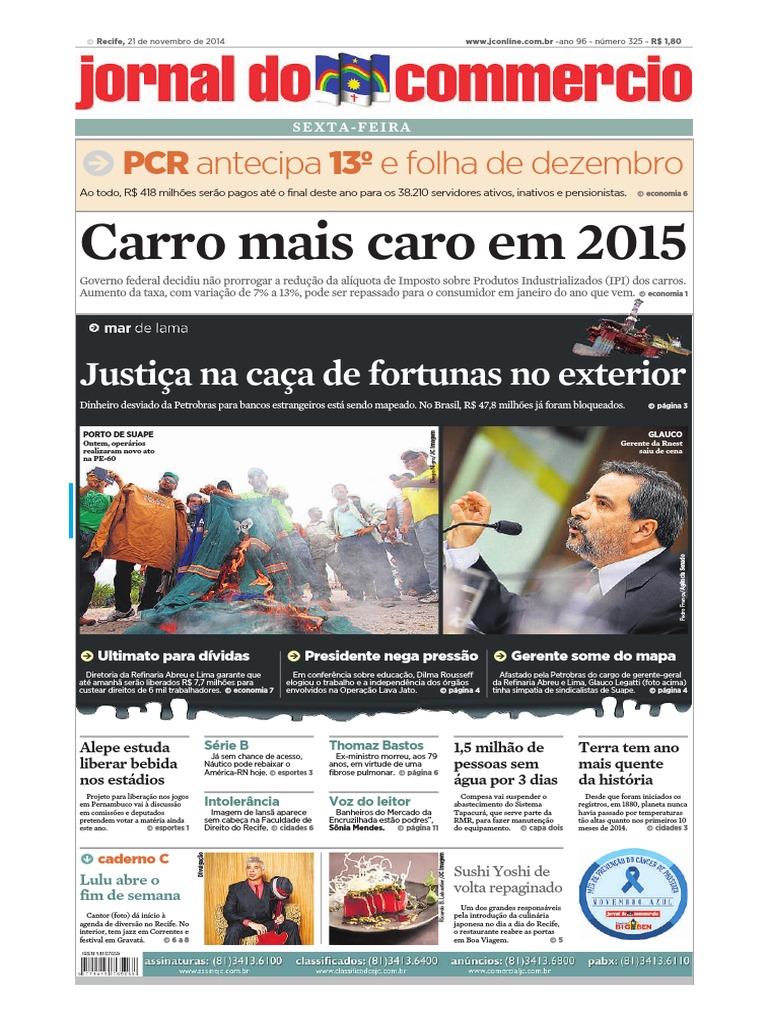 8a3127655 Jornal Comércio 21.11.14