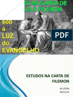 Estudos Na Carta de Filemon