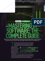 Mastering in Software