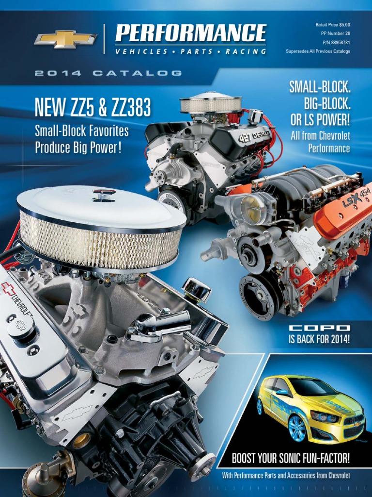 2014 chevrolet performance catalog automotive industry motor 2014 chevrolet performance catalog automotive industry motor vehicle fandeluxe Gallery