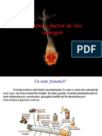 Curs 07 - Fumatul - Factor de Risc